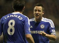 Chelsea were beaten in Pennsylvania despite goals from Frank Lampard, left, and John Terry, right