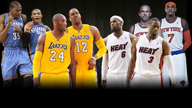 2012 NBA preview composite image