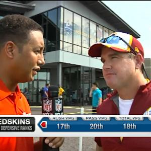 Washington Redskins head coach Jay Gruden on quarterback RGIII: 'We have high hopes for him'