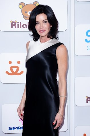 Janice Dickinson arrives at Rilakkuma & Space Hamsters with Best Friends Animal Society launch party at The Mark for Events on November 2, 2012 in Los Angeles -- Getty Premium