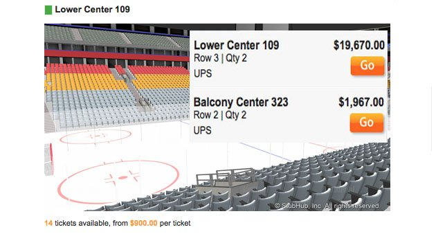 Maple Leafs Get Trolled By Secondary Ticket Market