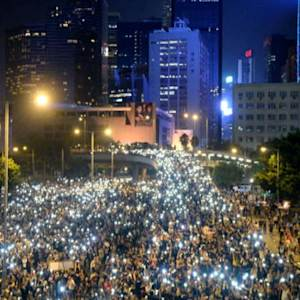 Hong Kong's pro-democracy protesters demand government reform