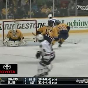 Duncan Keith blasts one from the blue line