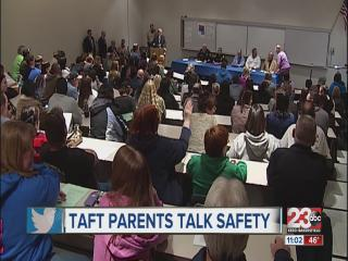 Taft High School parents speak out about school shooting