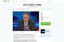 Jon Stewart announces $10 billion parody Kickstarter to buy CNN