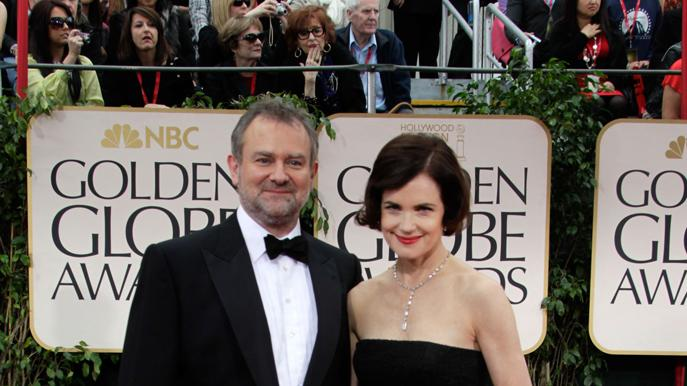 Elizabeth McGovern and Hugh Bonneville
