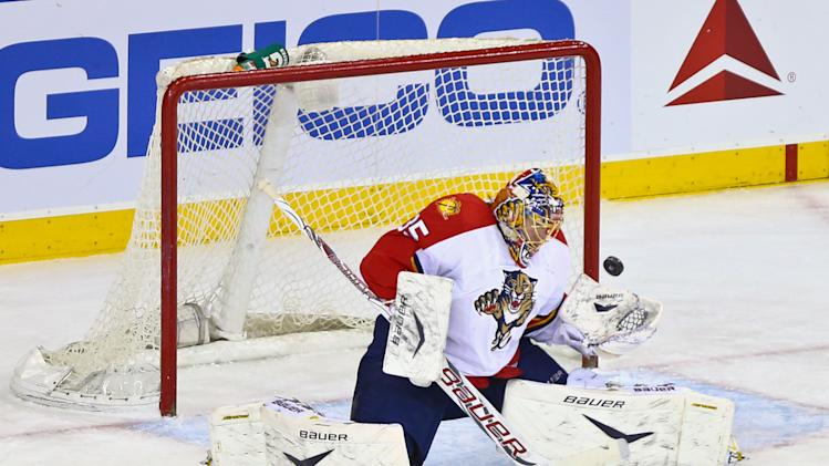 NHL: Florida Panthers at New York Rangers