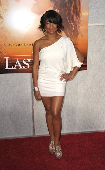 The Last Song LA Premiere 2010 Monique Coleman