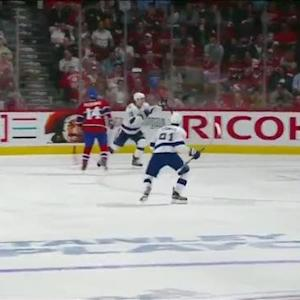 Kucherov buries perfect PP setup from Lightning