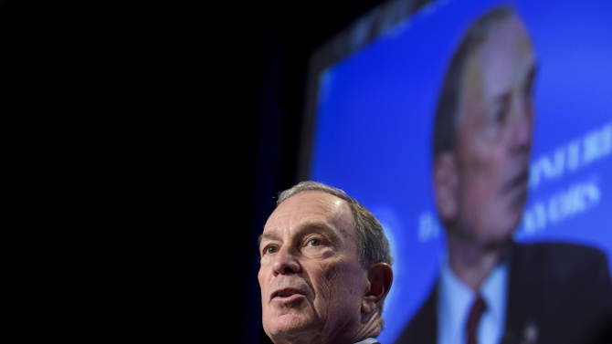 Bloomberg urges mayors to press Congress on guns