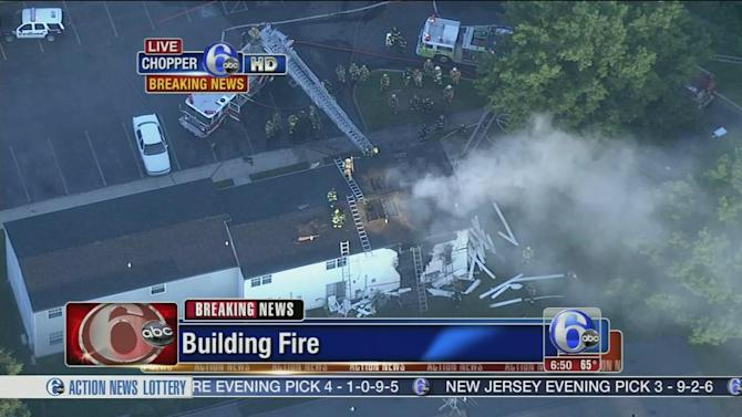 Fire damages townhomes in Lower Pottsgrove