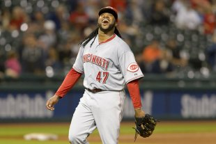 Johnny Cueto has caused a stir in the Sabermetric world. (Getty)