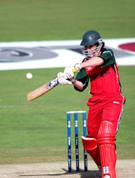 Brendan Taylor was unbeaten on 59 as Zimbabwe defeated South Africa in the T20 Tri-Series final