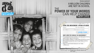 3 Twitter Hashtag Campaigns That Were Smashing, Unequivocal Successes image UNICEF India Awaaz Do