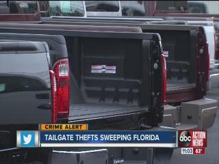 tailgate thefts on the rise