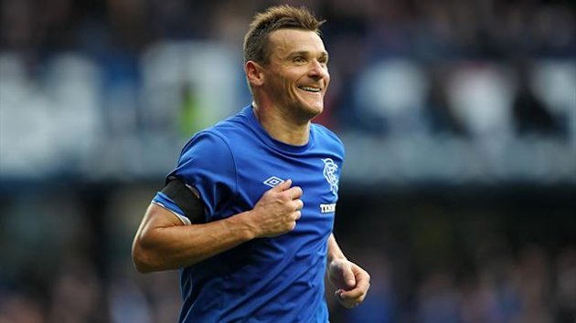 Lee McCulloch has committed his future to Rangers
