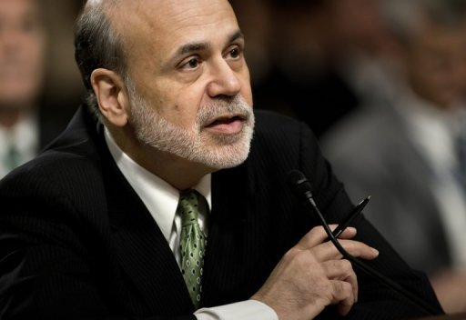 <p>Federal Reserve Chairman Ben Bernanke speaks during a hearing on June 7. The Federal Reserve ended a crunch policy meeting with a decision to extend existing stimulus measures until the end of the year, in a bid to tackle subpar US jobs growth.</p>