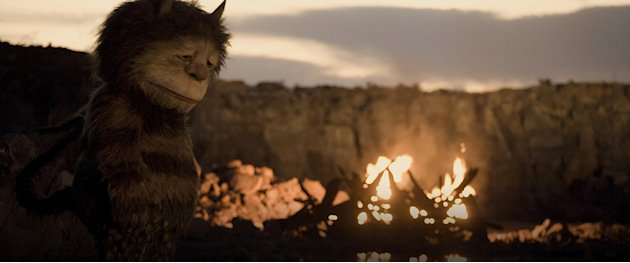Where the Wild Things Are 2009 Warner Brothers Production Photos James Gandolfini