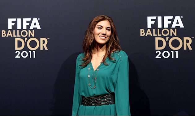 Hope Solo Of USA Getty Images