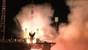 Astronauts Launch on First 'Express' Flight to Space Station