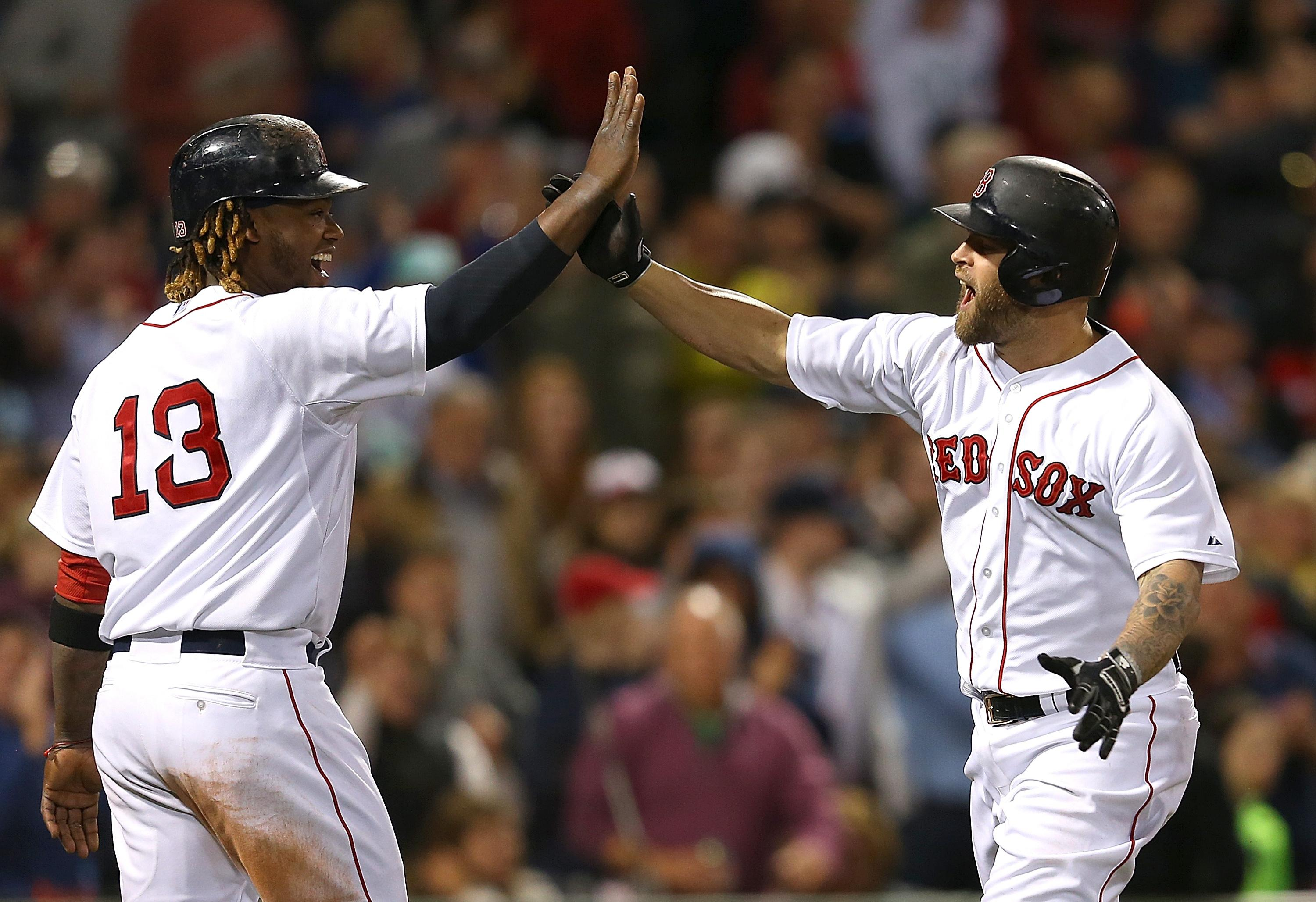 Daily Dime: Mike Napoli early, Brian McCann (and teammates) late