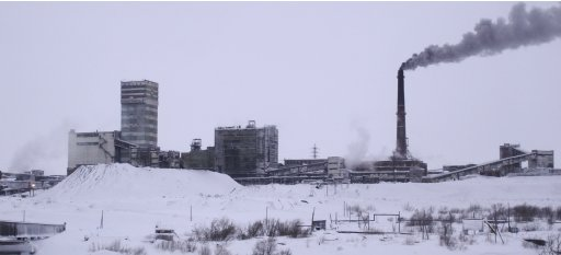 File photo of the Vorkutinskaya mine in Russia's northern Komi region