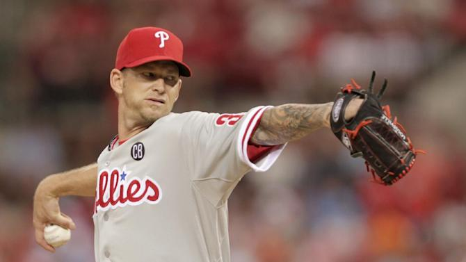 Burnett, Phillies stop Cardinals 5-1