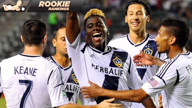 Rookie Rankings: Can LA Galaxy's Gyasi Zardes keep hold of a starting spot and continue rapid rise?