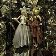 A scene from the &#39;Louis Vuitton and Marc Jacobs&#39; exhibition at the Muse des Arts dcoratifs