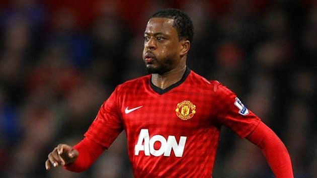 Patrice Evra, Manchester United (PA Photos)