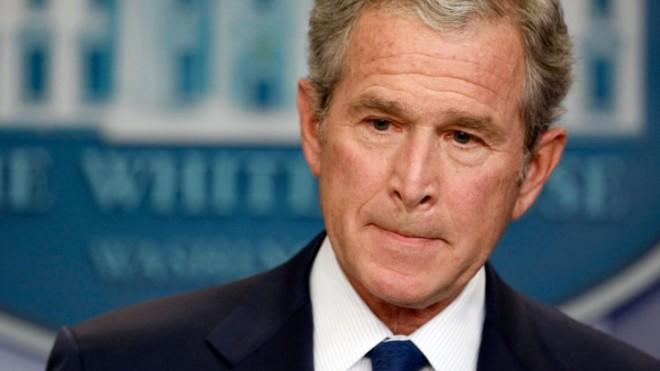 George W. Bush's presidency remains the elephant in the room.