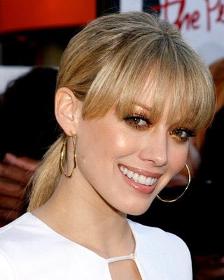 Hilary Duff at the Universal City premiere of Universal Pictures' The Perfect Man