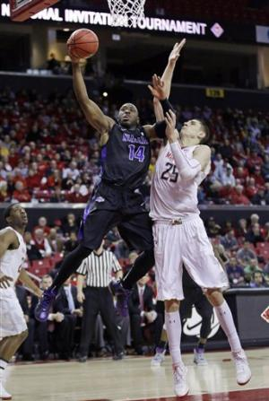 Maryland beats Niagara 86-70 in NIT opener