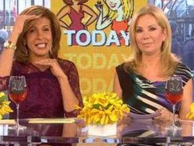 Hoda (and Lucy) Say Friend-jumping Is Not OK