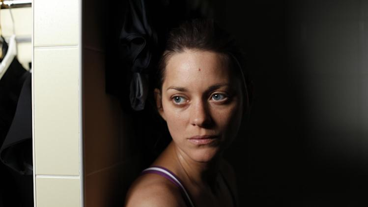 "This film image released by Sony Pictures Classics shows Marion Cotillard in a scene from ""Rust and Bone."" (AP Photo/Sony Pictures Classics)"