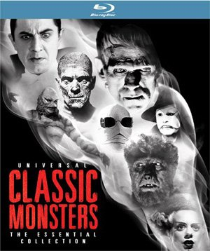 Universal Classic Monsters Box Art