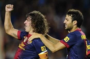 Puyol expected to miss four to six weeks following strained knee ligaments