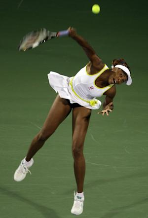 US tennis player Venus Williams