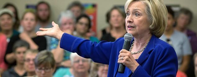 Hillary Clinton confronted over trust issues