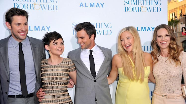 Something Borrowed LA Premiere 2011 JohN Krasinski Ginnifer Goodwin Colin Egglesfield Kate Hudson Hilary Swank