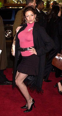 Kari Wuhrer at the Hollywood premiere of Warner Brothers' The Majestic