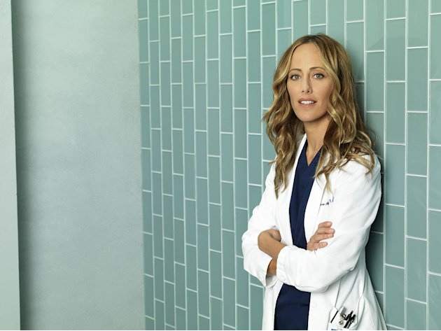 Kim Raver stars as Teddy Altman in &quot;Grey's Anatomy.&quot; 