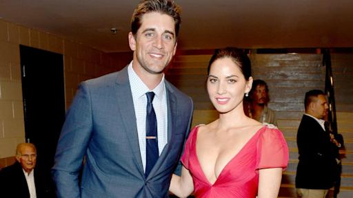 Aaron Rodgers Opens Up on Dating Actress Olivia Munn