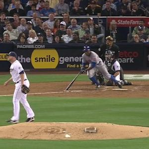 Spangenberg's leaping catch