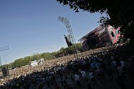 Festival goers enjoy a concert at Sziget Festival in 2011. Placebo, LMFAO, The Killers and over 150 groups from Hungary, Europe and further afield will grace the stages at Budapest's 20th Sziget Festival on August 6-13, one of Europe's most popular music events