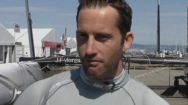Ainslie gears up for America's Cup