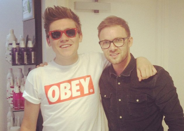Frankie Cocozza, new haircut, Jamie Stevens
