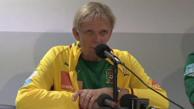 Cameroon coach pleased to have Eto'o for World Cup playoff