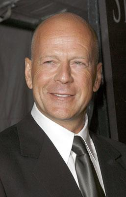 Bruce Willis at the New York premiere of Sony Pictures' Perfect Stranger