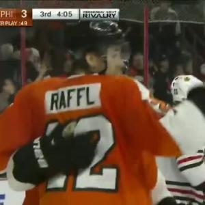 Michael Raffl Goal on Corey Crawford (15:55/3rd)